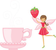 Tea fairy Stock Images