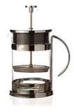 Tea french press Stock Photography