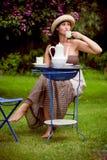 Tea garden Stock Photos