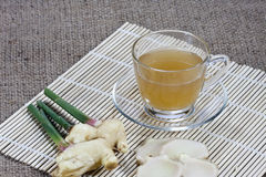 Tea ginger ,Ginger drink Stock Images
