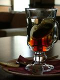 Tea in a glass Royalty Free Stock Image