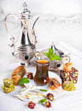 Tea in a glass Royalty Free Stock Photo