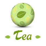 Tea globe Royalty Free Stock Photography