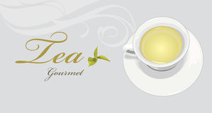 Tea Gourmet. Label For Design Royalty Free Stock Photos