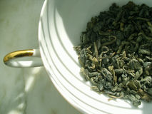 Tea - green Royalty Free Stock Photos