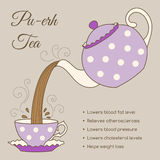 Tea health benefits Royalty Free Stock Photo