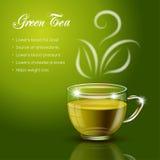 Tea health benefits Stock Images