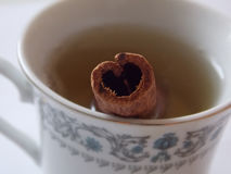 Tea from the heart Royalty Free Stock Photo