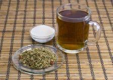 Tea on herbs Royalty Free Stock Photos