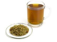 Tea on herbs Stock Photos