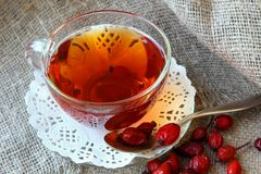 Tea from the hips Royalty Free Stock Photo
