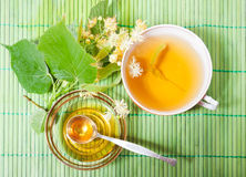 Tea with honey Stock Photo