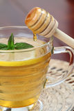 Tea with honey and lemon Stock Photography