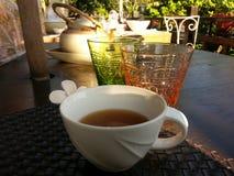 Tea. Hot tea for good health stock image