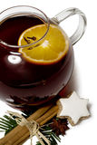 Tea hot spiced wine Stock Photo