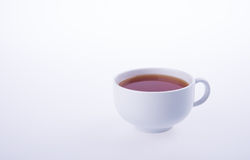 tea or hot tea cup on a background. Stock Image