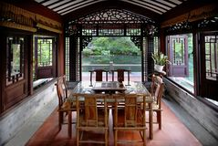 Tea House. This room is so good for having a tea with friends Royalty Free Stock Photo