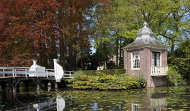 Free Tea House And Entrance To Castle Zeist, The Netherlands Royalty Free Stock Image - 91922746