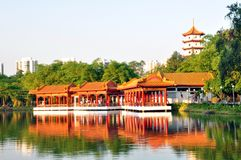 Tea House, Chinese Garden Stock Image