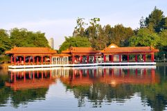 Tea House, Chinese Garden Royalty Free Stock Image