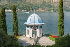 Tea house in the gardens of Villa Melzi, Bellagio, Lake Como Stock Images