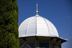 Tea house in the gardens of Villa Melzi, Bellagio Royalty Free Stock Photos