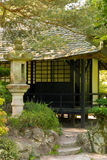Tea House. Irish National Stud's Japanese Gardens.  Kildare. Ireland Stock Photo