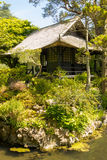 Tea House. Irish National Stud's Japanese Gardens. Kildare. Ireland. Tea house. The Japanese Garden in the Japanese Gardens & Irish National Stud of Kildare are stock photos