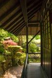 Tea House. Irish National Stud's Japanese Gardens. Kildare. Ireland. Tea house. The Japanese Garden in the Japanese Gardens & Irish National Stud of Kildare are stock photo