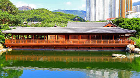 Tea house at nan lian garden, hong kong Stock Image