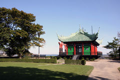 Tea house in Newport, Rhode Island Stock Photography