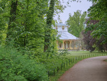 Tea house in Park Sanssouci in Potsdam Stock Photo