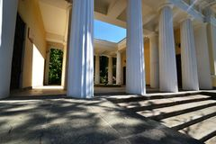 Tea house in the Park Stock Photo