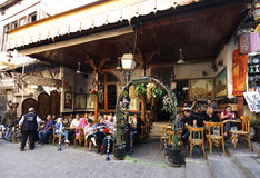 Tea house and tobacco shop at Aleppo Royalty Free Stock Images