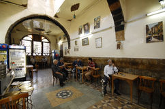 Tea house and tobacco shop at Damascus Royalty Free Stock Photo