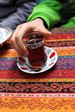 Tea i Istanbul Royaltyfri Fotografi
