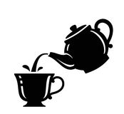 Tea icon Royalty Free Stock Image