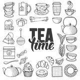 Tea icon Royalty Free Stock Images