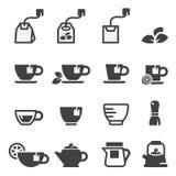 Tea icon set Stock Image