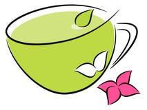 Tea illustration Royalty Free Stock Image