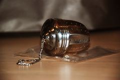 A tea infuser royalty free stock images