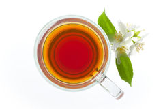 Tea isolated on white Stock Photos