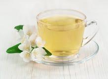Tea with jasmine Stock Images