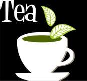 Tea label Royalty Free Stock Photos