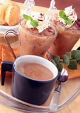 Tea Latte Royaltyfri Foto
