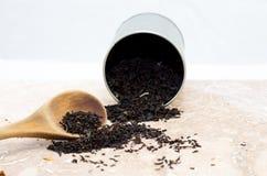Tea leafs Royalty Free Stock Image