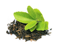 Tea leaves Royalty Free Stock Photos