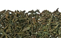 Tea leaves brew Stock Image