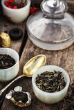Tea leaves for brewing Stock Photography