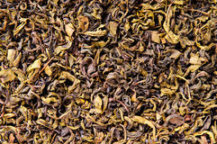 Tea leaves closeup Royalty Free Stock Photos